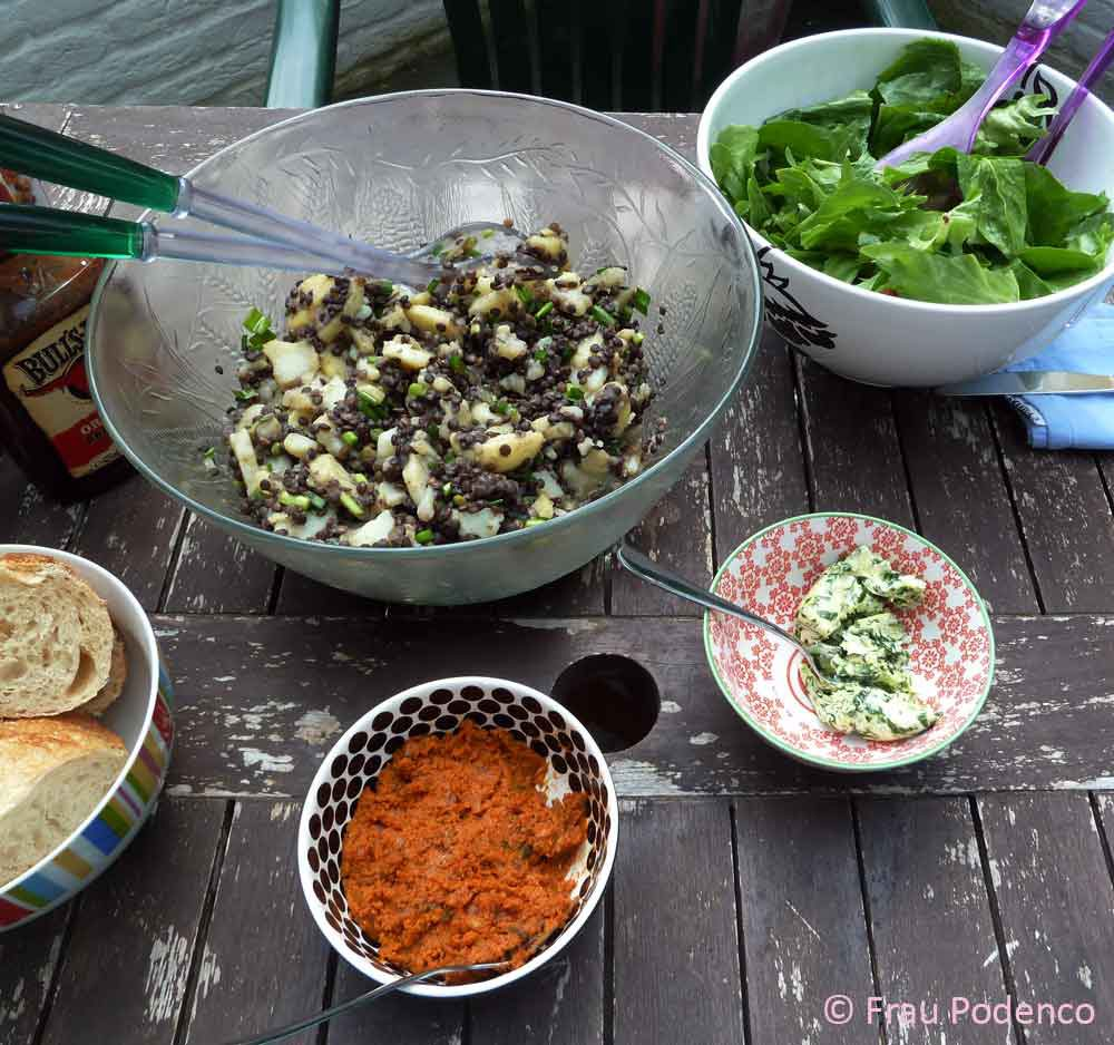 Kartoffelsalat, Grillen, BBQ