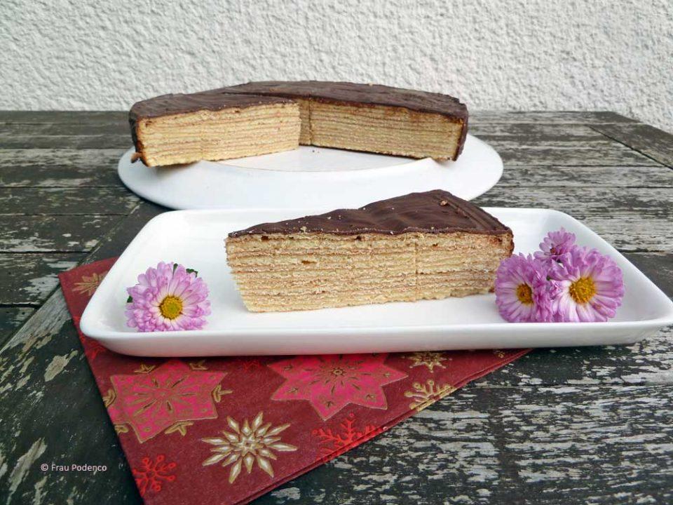 Rezept für Baumkuchen