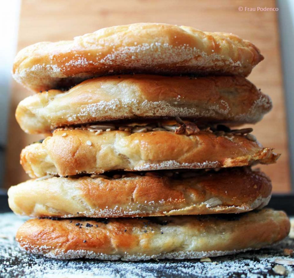 Bagels backen Rezept
