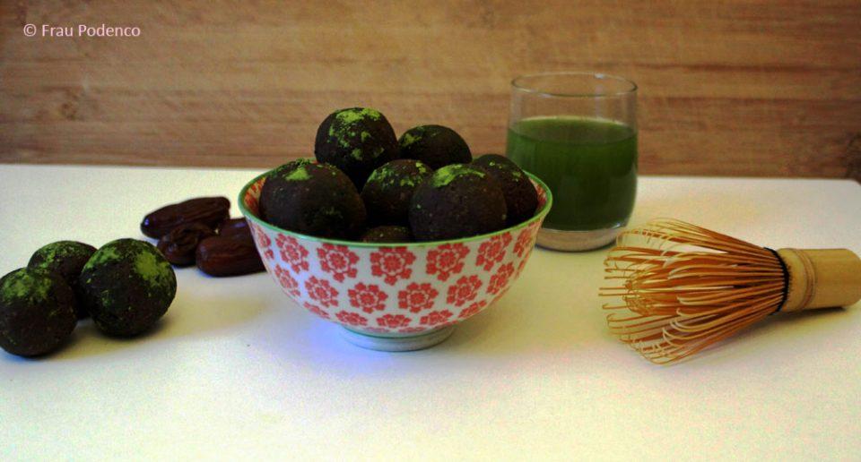Matcha Energyballs Rezept