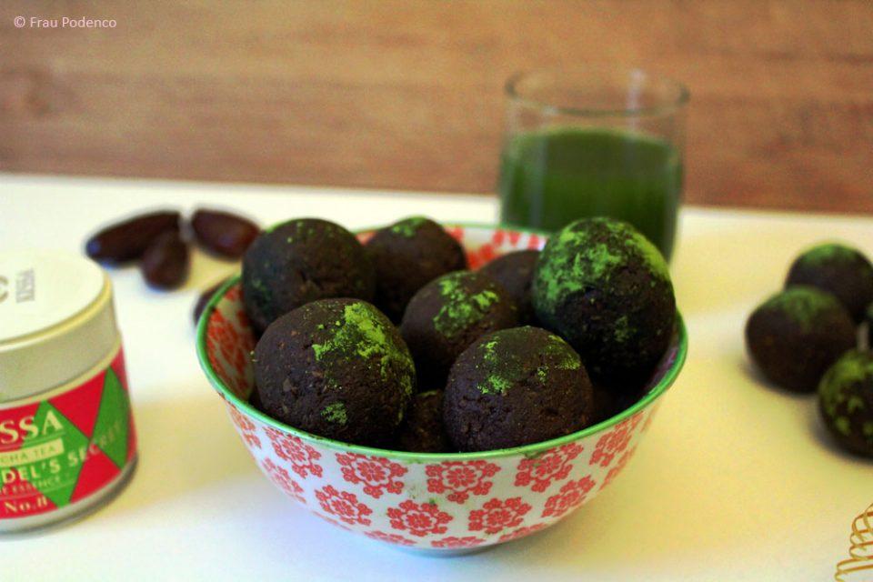 Matcha-Energyballs Rezept