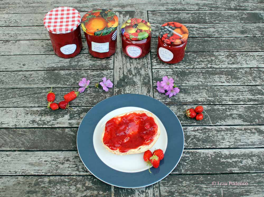 Erdbeer-Rhabarber-Marmelade Rezept