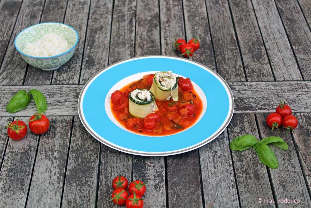 Zucchini Rezept, gesund kochen