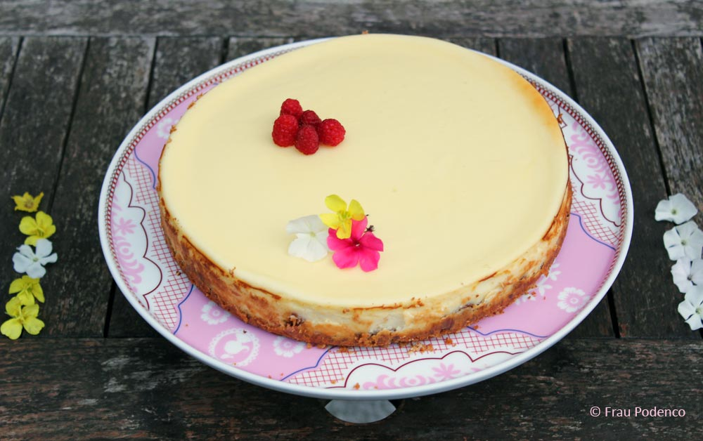 Original American Cheesecake Rezept, New York Cheesecake