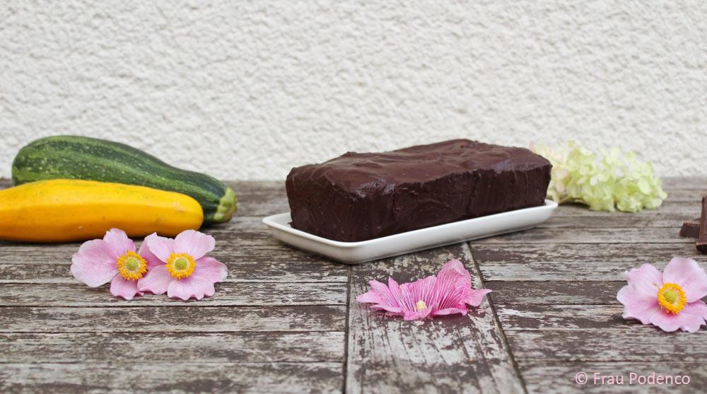Zucchini-Schokoladenkuchen Rezept einfach lecker