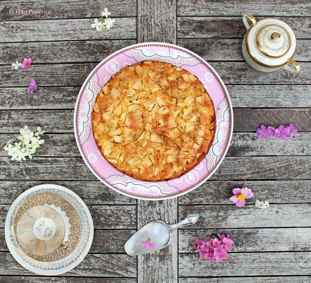 Schwedischer Apfelkuchen einfach schnell rezept