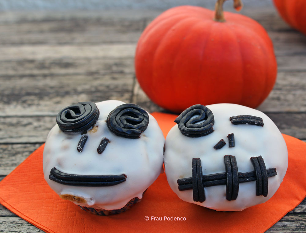 Spooky Halloween Muffins, tolles Rezept