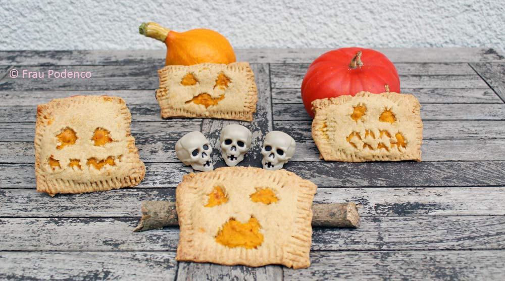 Kürbis und Pop Tarts zu Halloween