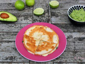 Quesadillas vegetarisch mexikanisch kochen
