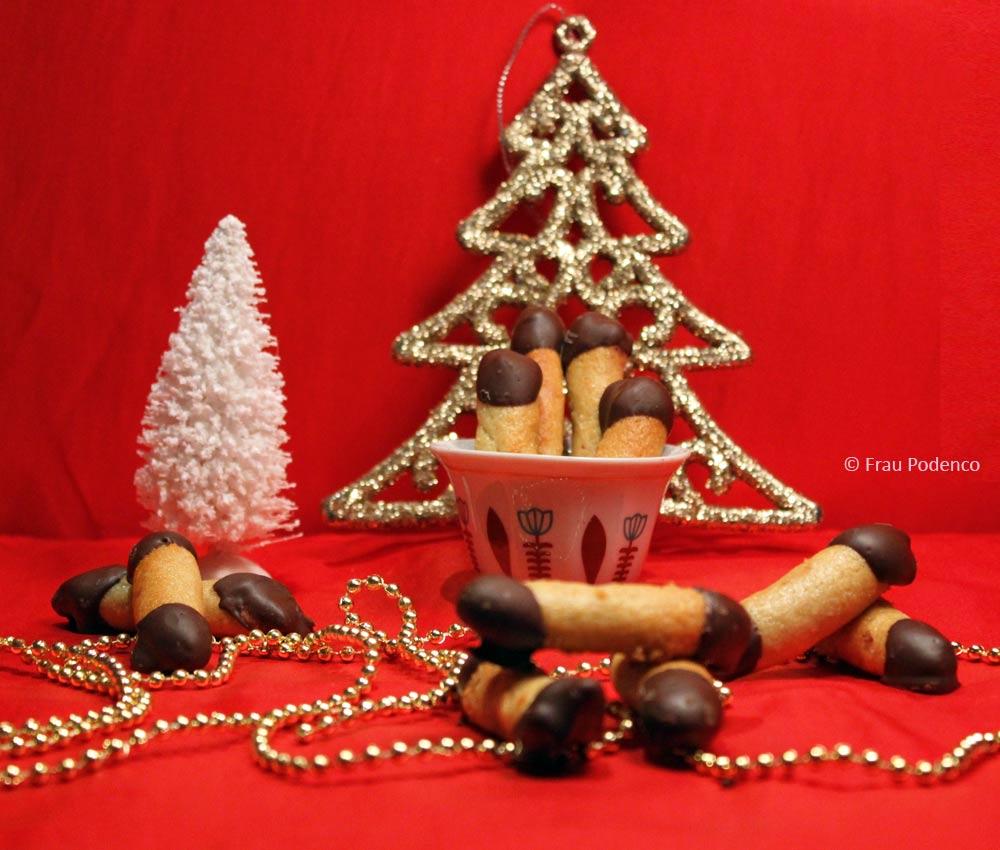 einfach backen zu weihnachten, kekse mit marzipan