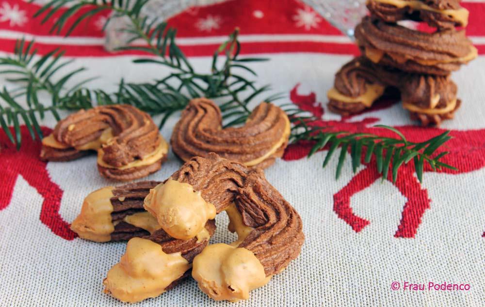 keks rezept mit schokolade und erndussbutter