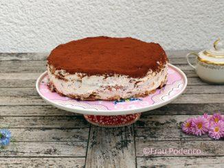 Tiramisu-Torte ganz einfach selbst gemacht.