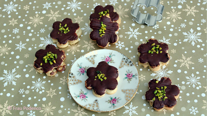 Marzipan schoko kekse rezept