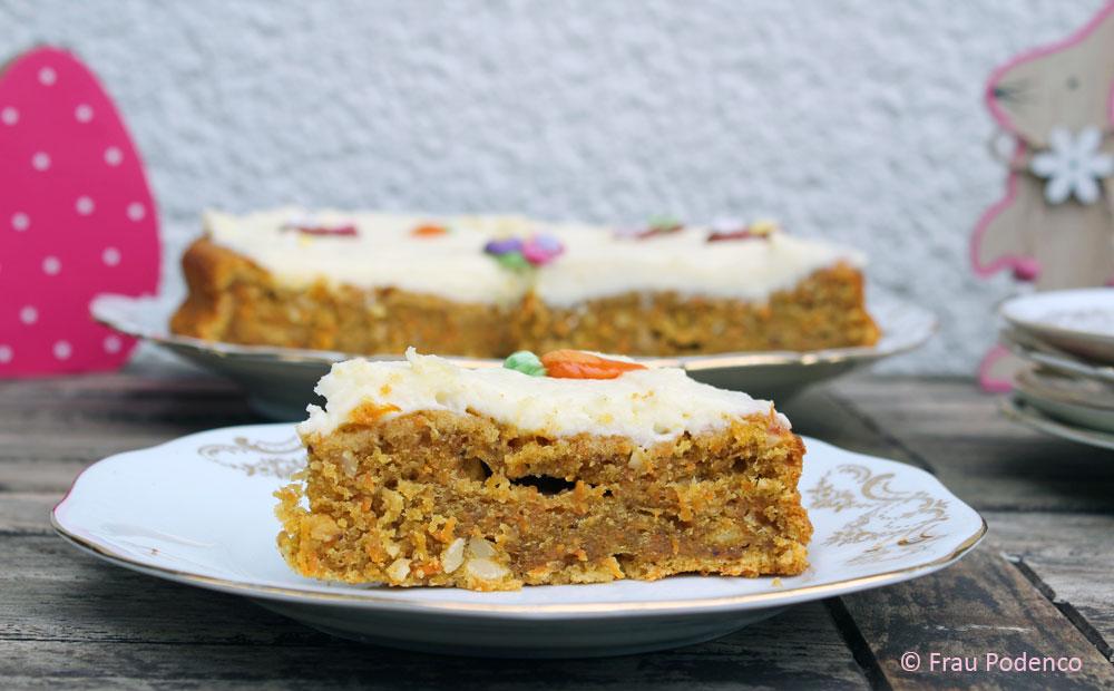 carrot cake einfach backen
