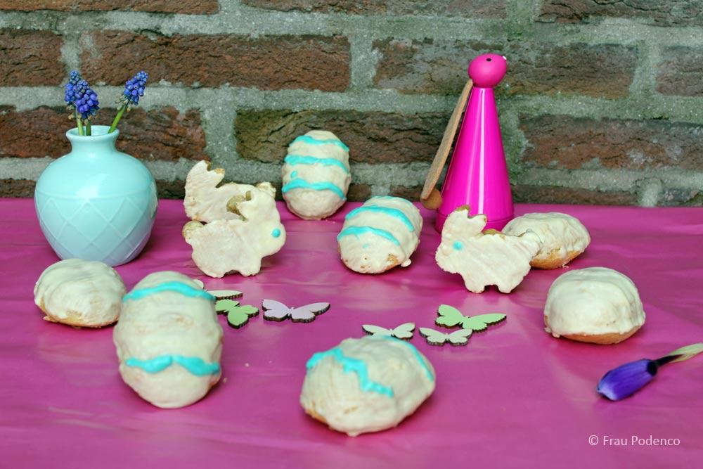 Mini-Eierlikörkuchen Ostertafel Rezept