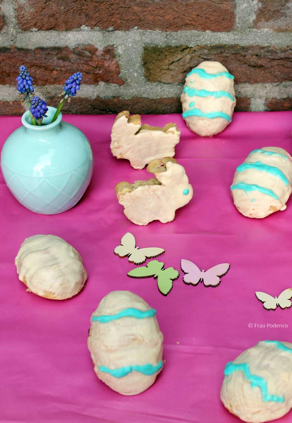 Mini-Eierlikörkuchen zu Ostern lecker und schnell