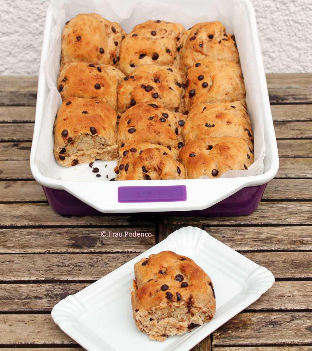 schoko-brioche bröchen rezept zum frühstück