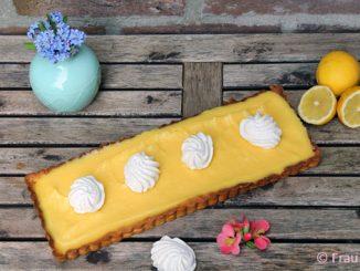 zitronen-tarte backen ein tolles rezept